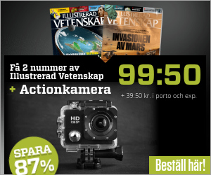 Illustrerad Vetenskap + PROX11 Full HD Actionkamera