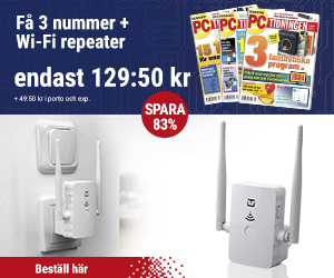 PC-tidningen + Wi-Fi repeater